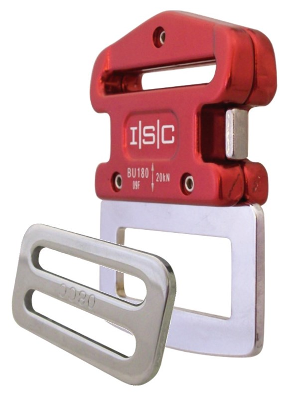 Photo of BU180 45mm Klick-lock Buckle,Tang & 3-Bar Slide Set