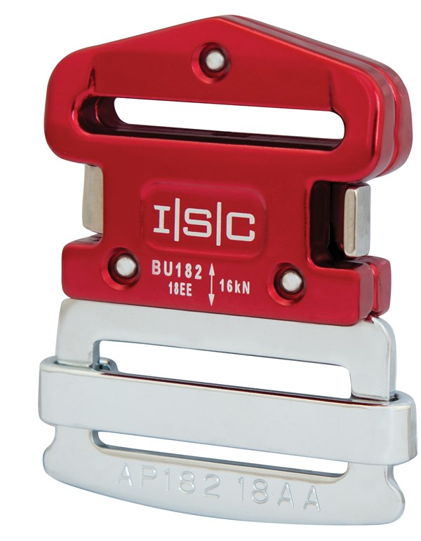 Photo of BU182 45mm Klick-lock Buckle & Sliding Tang Set