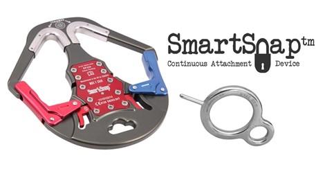 Sistema de mosqueton intelilente Smartsnap de ISC