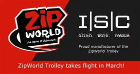 New ZipWorld Trolley takes flight in March!